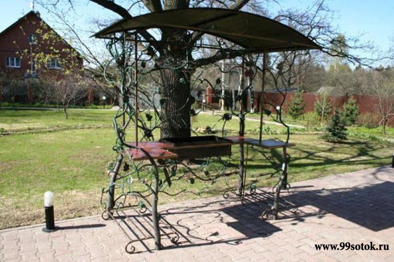Кованая мебель для сада