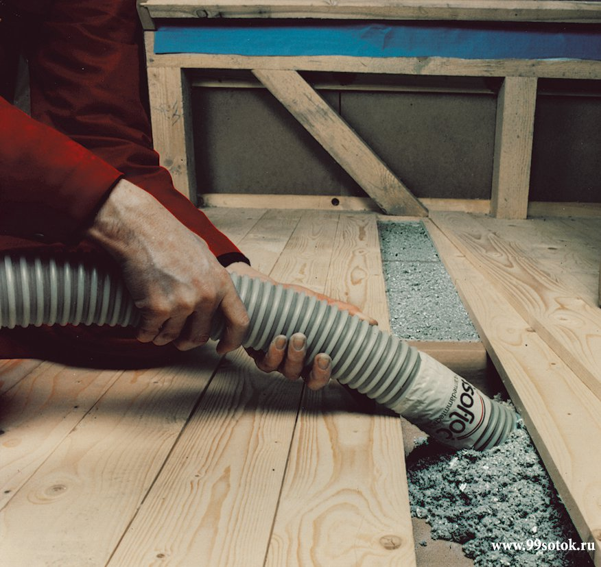 Целлюлоза в теплоизоляции дома - свойства и применение целлюлозных волокон